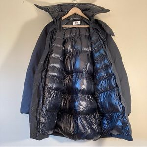 Uniqlo puffer parka hooded jacket